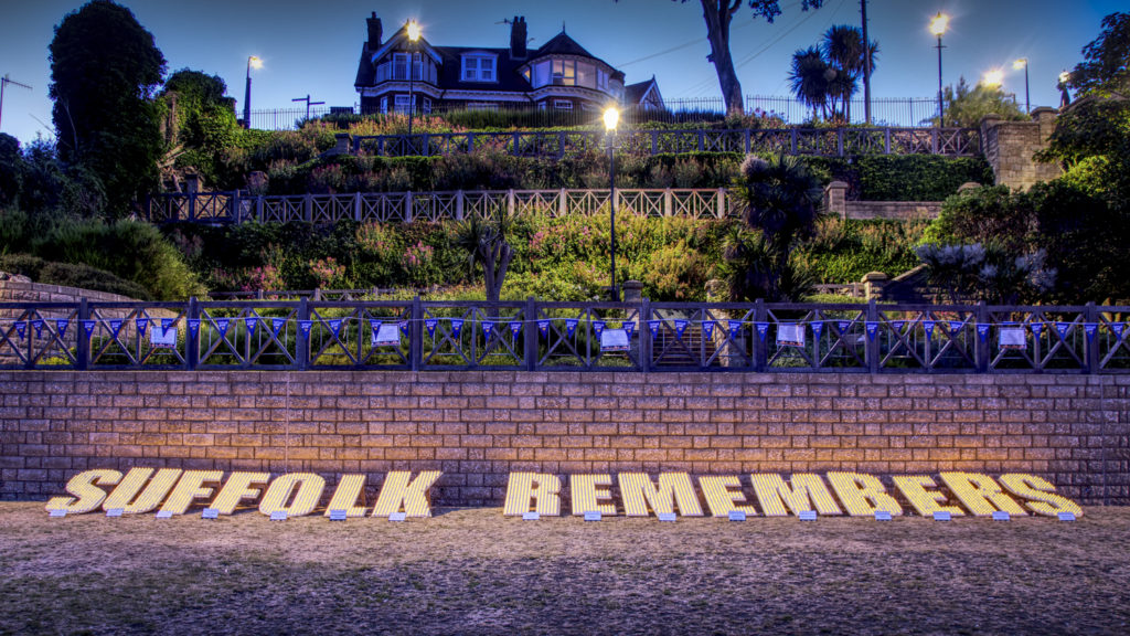 100 Days Until Suffolk Remembers Returns To Felixstowe Sea Front