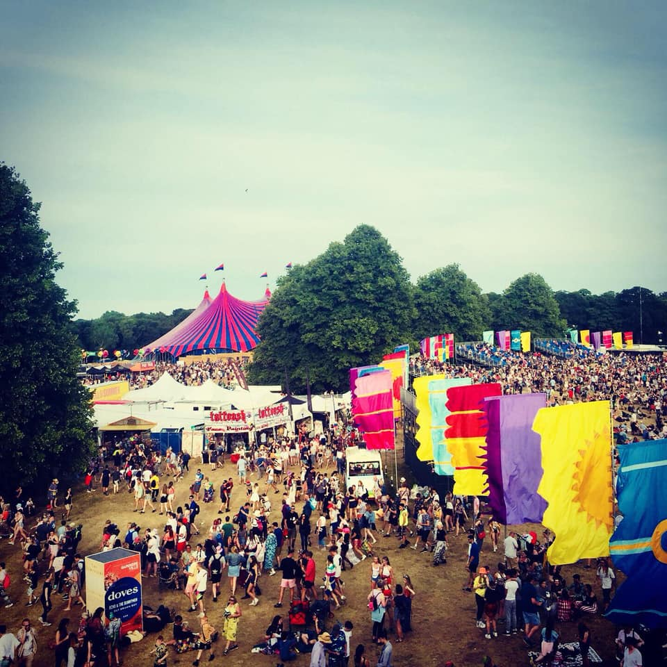 We've attended Latitude Festival with our pop-up clothes stand