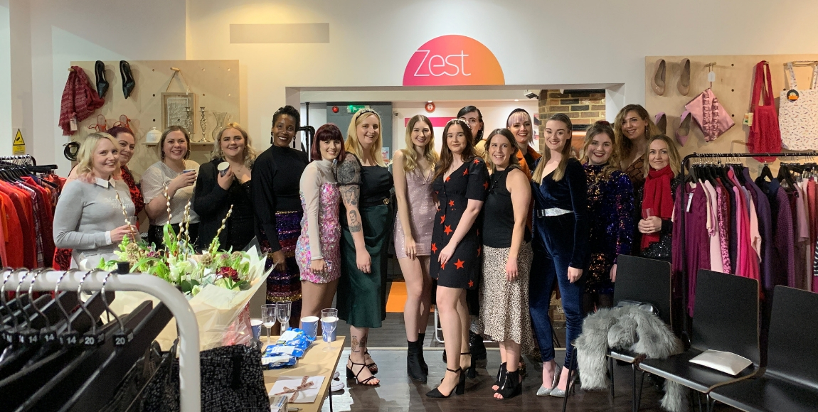 We hold blogger events in store, with raffles to raise money & showcase new items available to buy. (Image: SeeSuffolk)