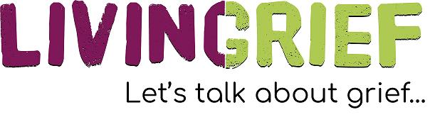 LivingGrief Logo Tagline 2